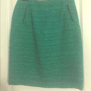 Halogen Green Pencil Skirt